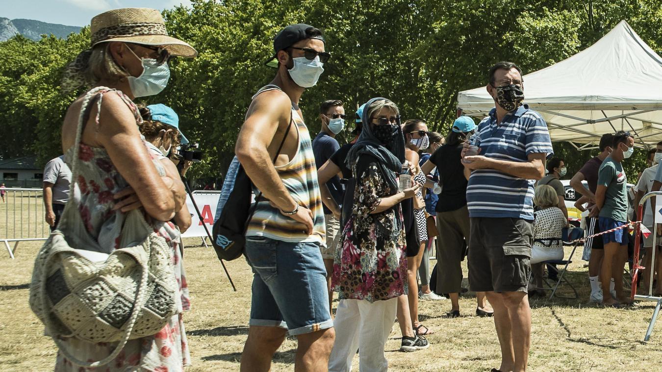 Le masque va devenir obligatoire en vieille ville d'Annecy à partir du mardi 4 août.