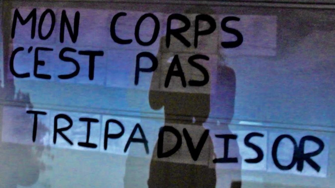 Les slogans sont imaginés par les colleuses de Thonon ou repris parmi ceux des autres collectifs qui collent en France.