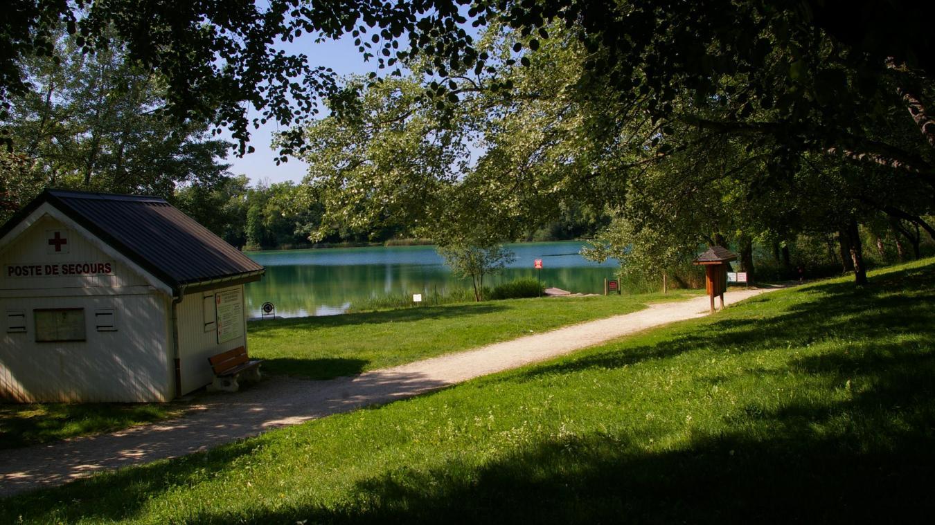 La baignade est de nouveau formellement interdite dans le plan d'eau de Rumilly.