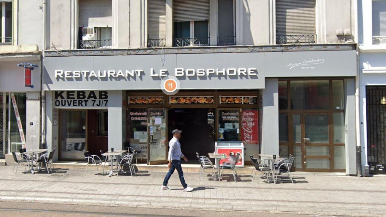 Le restaurant-kebab le Bosphore, à Mulhouse, a été acquis en 2000 par le père de Guney Cokkaya.