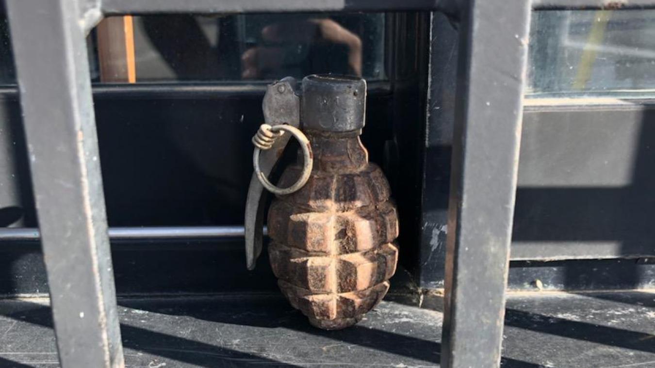 Bassin chambérien: une grenade retrouvée dans une déchetterie