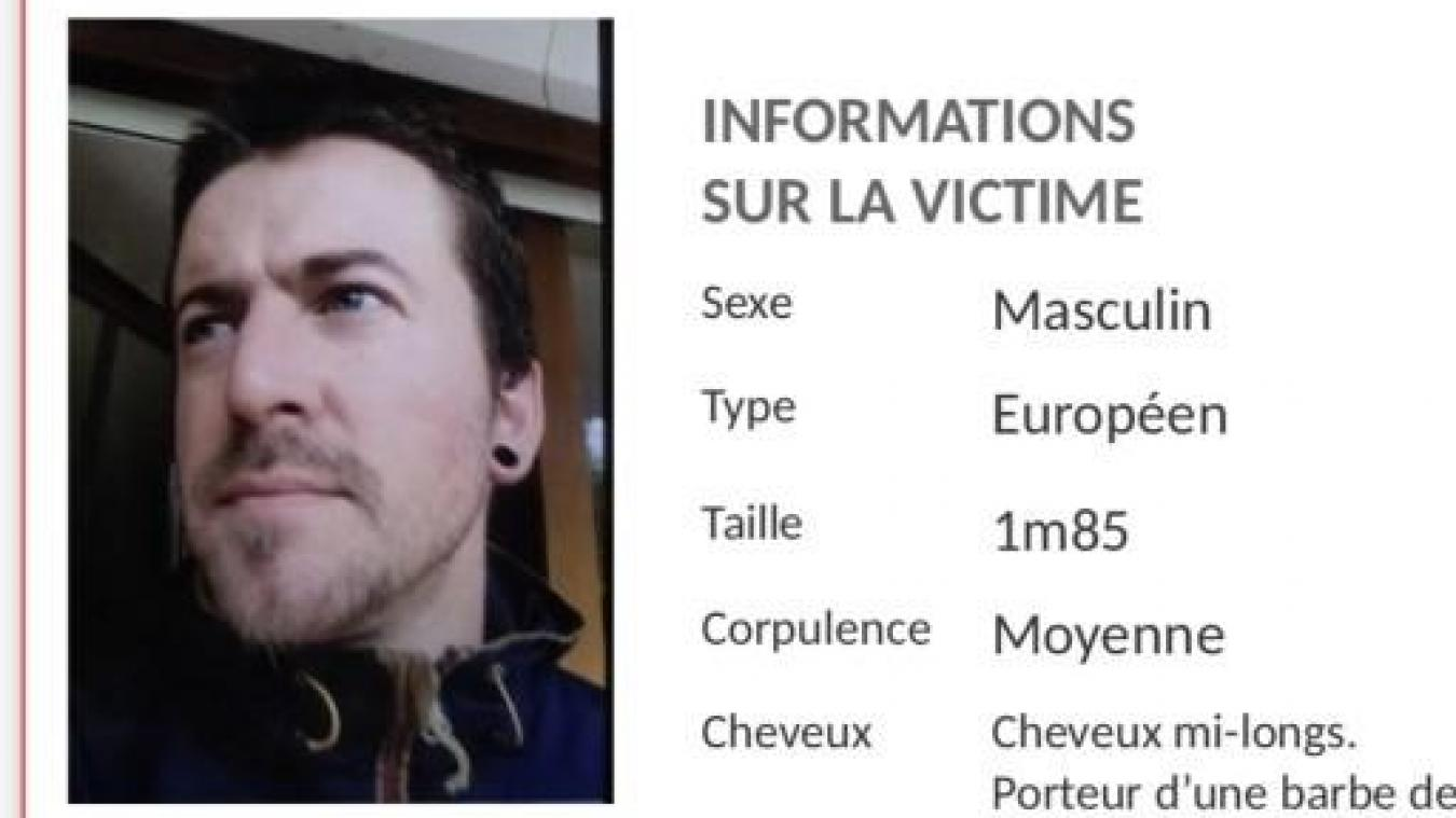 Benoit B. a quitté son domicile dans la nuit du lundi 3 au mardi 4 août. Photo : gendarmerie nationale