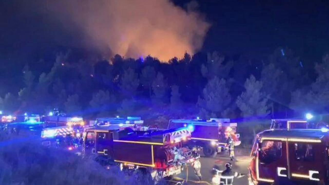 (PHOTOS) Ain : les sapeurs-pompiers du département en renfort dans le Sud de la France