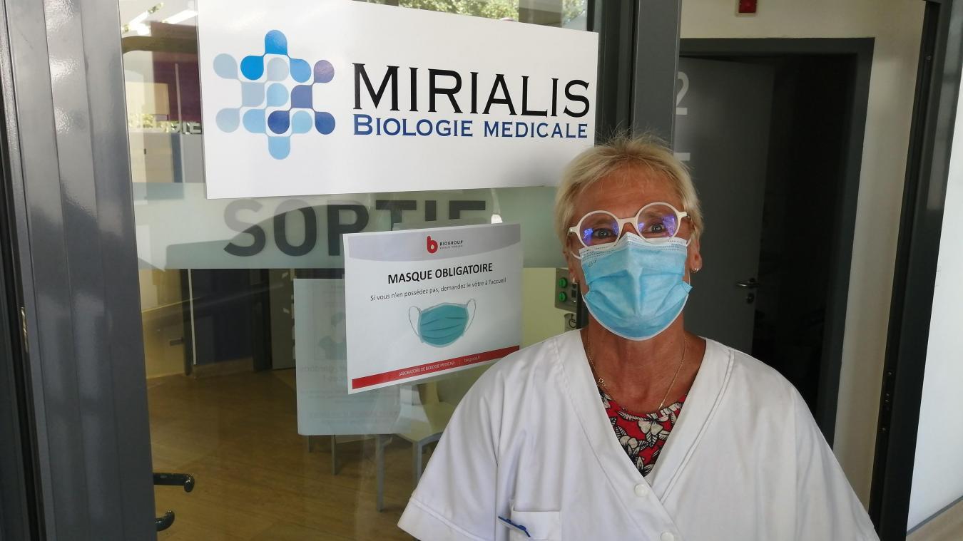 Malgré le peu de résultats positifs, Diane Tapponnier, responsable des laboratoires Mirialis, souligne qu'il faut rester vigilant.