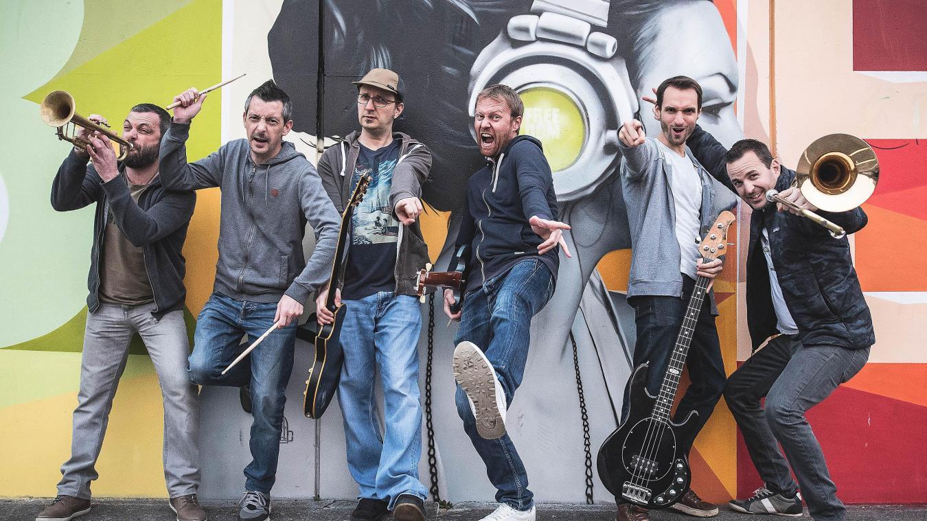 Le groupe Insert Coins, qui sera sur scène le samedi 12 septembre, est originaire du plateau de la Semine.