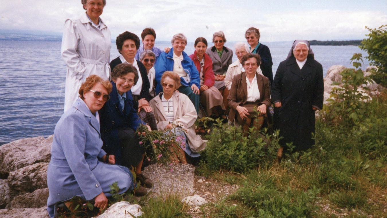En 1987, les soeurs étaient au nombre de 14 à Thonon.