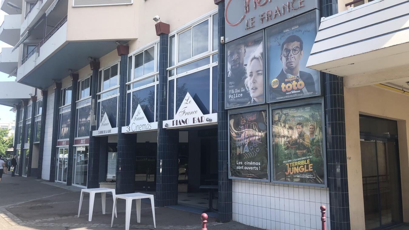 Des trois cinémas, seul le France a survécu.