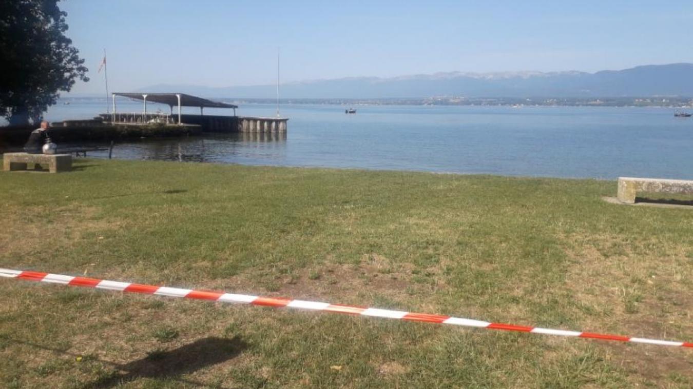 Dans ce petit espace fréquenté de Messery, la baignade a été interdite pour une durée de cinq jours.