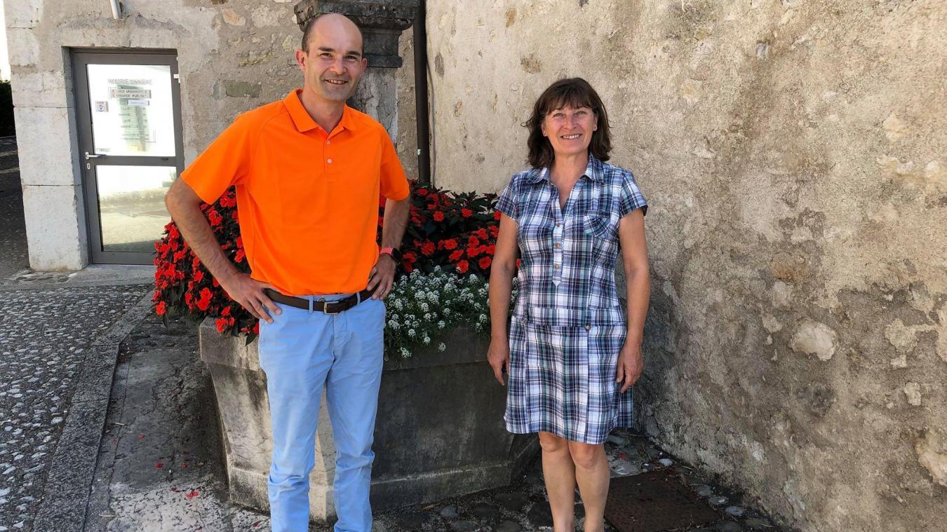 Marc Thouvenin, premier adjoint, et Valérie Thoret-Mairesse, maire, sont déjà entrés dans le vif du sujet.