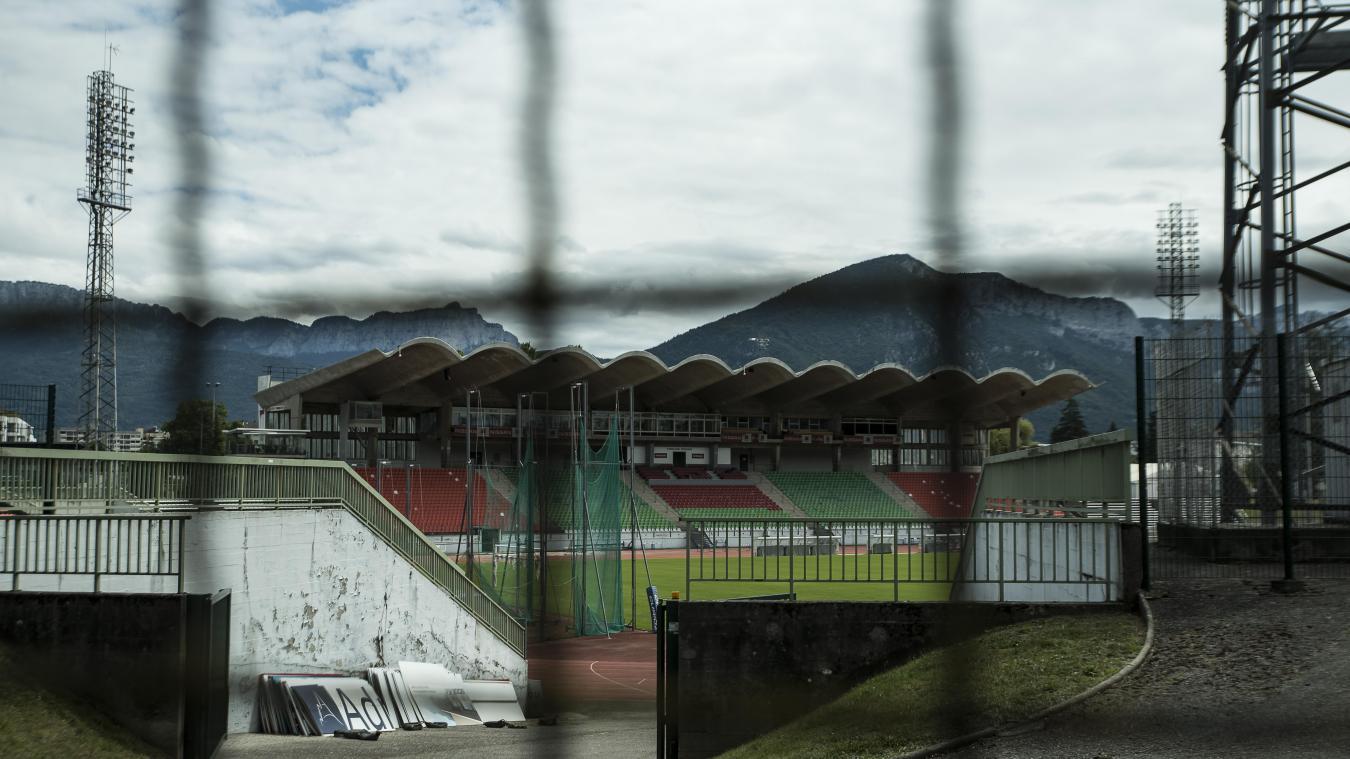 Fermée jusqu'à la fin du mois d'octobre, la Cuvette ne pourra pas accueillir les matchs du FC Annecy en début de saison.