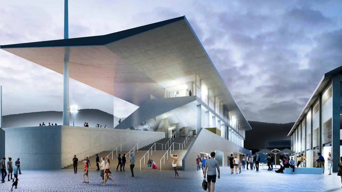 Chambéry: le calendrier de la reconstruction du stade municipal compromis