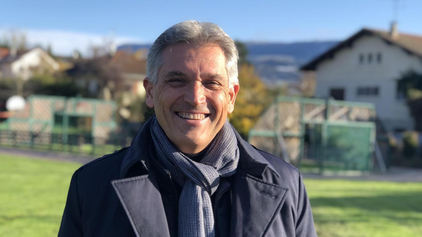 Patrick Antoine, élu maire de Vétraz Monthoux le 15 mars dernier était le seul candidat au poste.