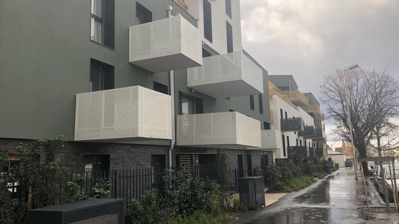 Livrés il y a quelques mois, plusieurs appartements situés avenue de la Dranse ont présenté des malfaçons, entraînant notamment des dégats des eaux.