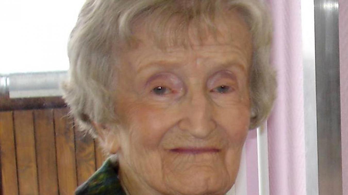 Jeanne Carrier a tenu l'orgue de l'abbatiale pendant plus de 70 ans  !