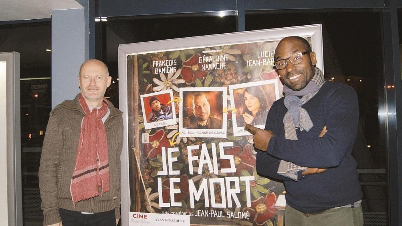 Le 23 novembre 2013, une avant-première avait réuni au Ciné Mont-Blanc de Sallanches, l'équipe de « Je fais le mort ».