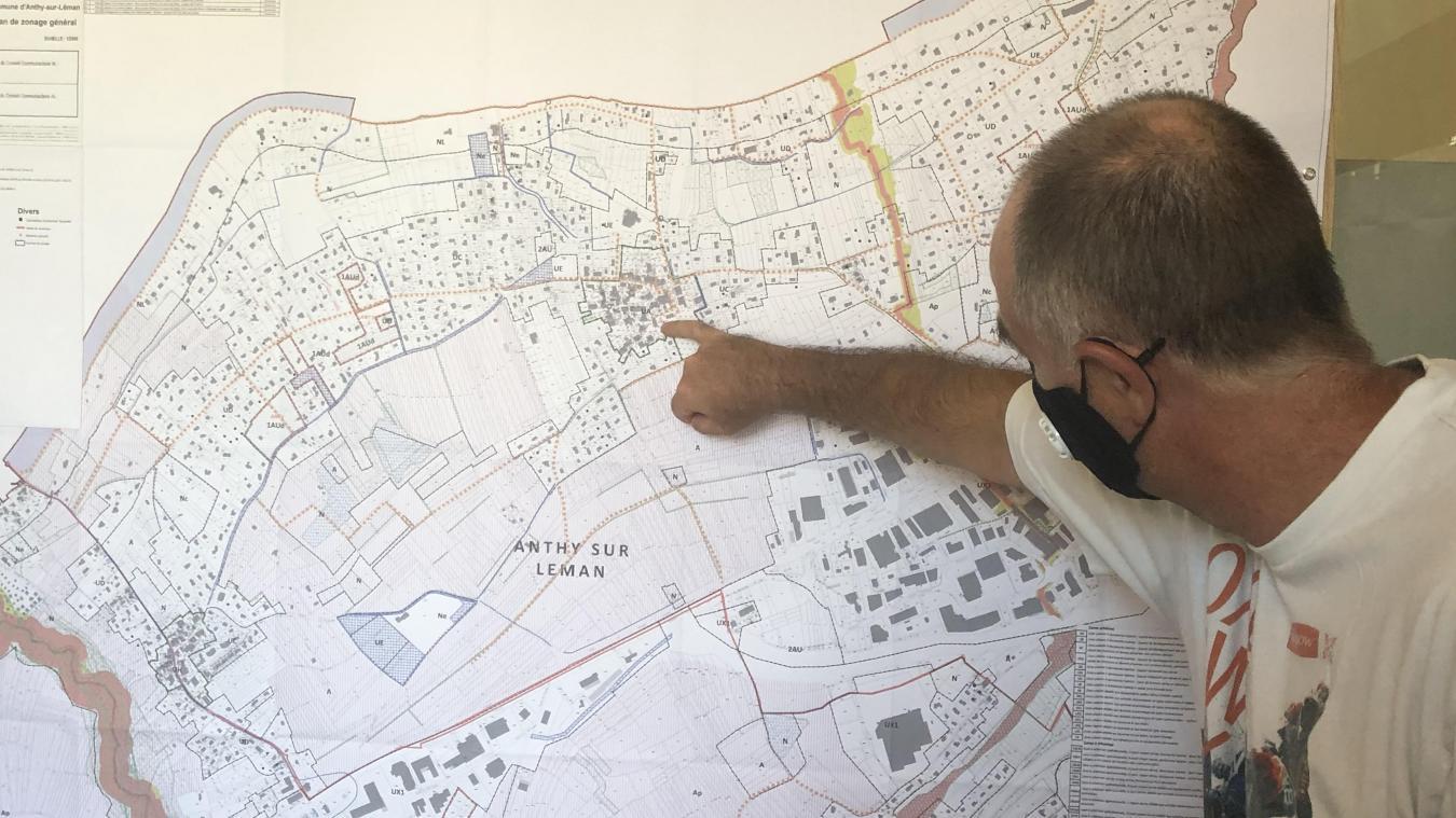Joël Gallay et la nouvelle municipalité anthychoise assurent qu'ils resteront vigilants face à la problématique de l'urbanisation.