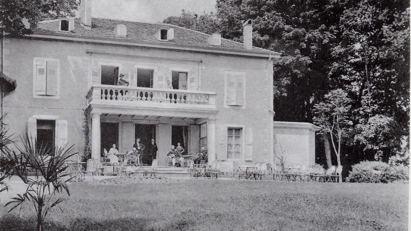 La villa Beaujeu transformée en casino.