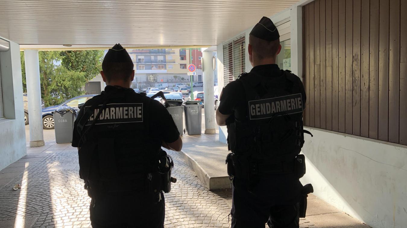 Le PSIG (peloton de surveillance et d'intervention de la gendarmerie) de Valserhône intervient régulièrement dans le Pays de Gex.