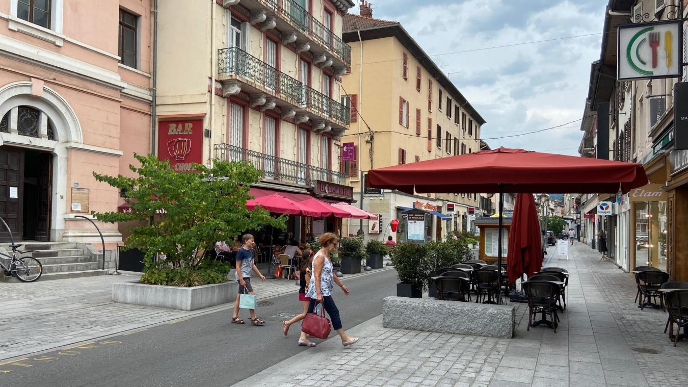 Le marché estival des producteurs locaux se déroulera rue de la république sur l'espace piéton.