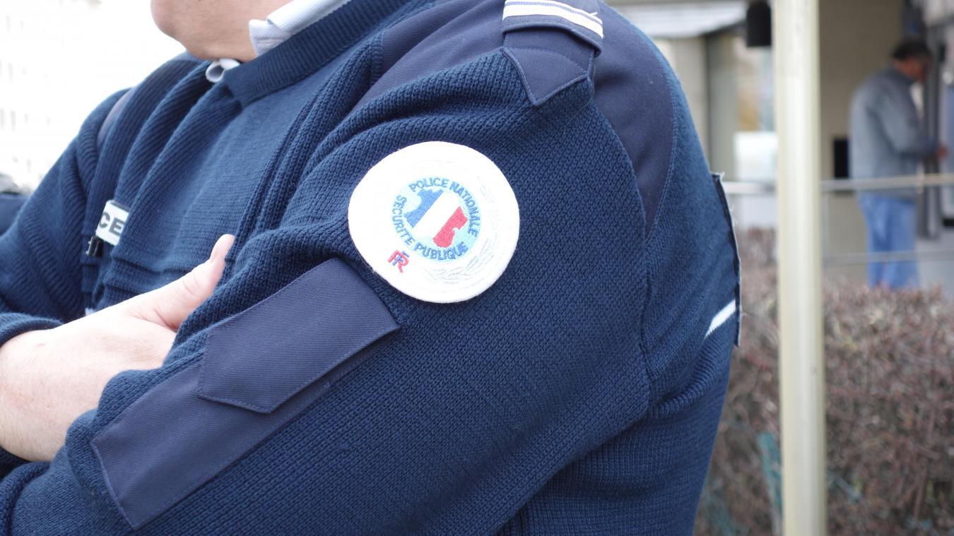 La police d'Annecy a arrêté trois cambrioleurs, côte Saint-Maurice à Annecy, dimanche 23 août.