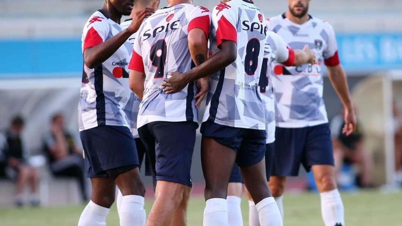 Les joueurs du TEGG FC ont parfois souffert en R1.