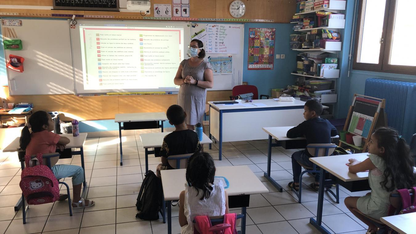 A Albertville, l'école élémentaire Pasteur a accueilli 64 élèves (sur 130 au total) cet été dans le cadre du dispositif des vacances apprenantes.