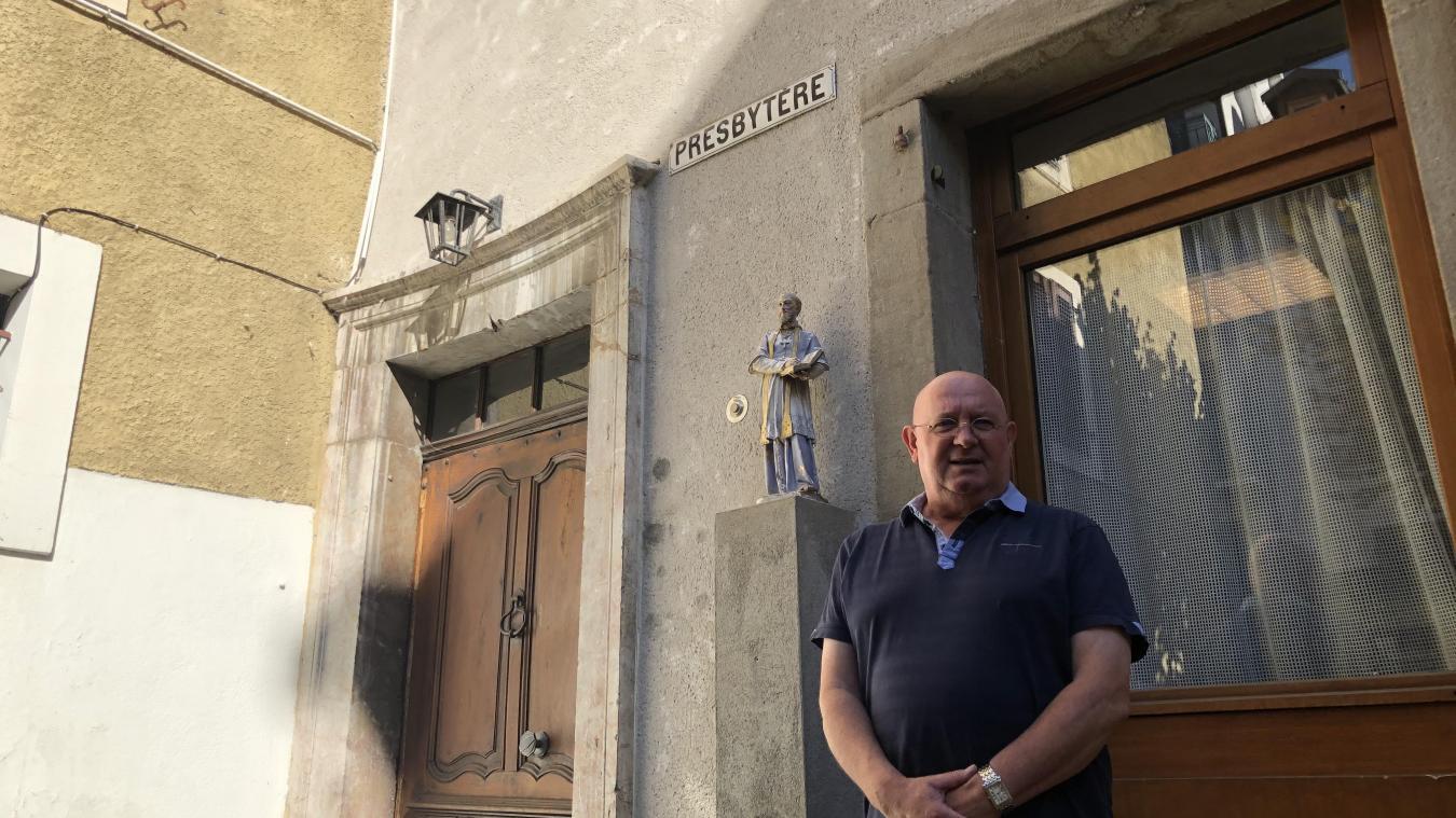 Le Père Le Tué a passé 7 ans dans le presbytère thononais.