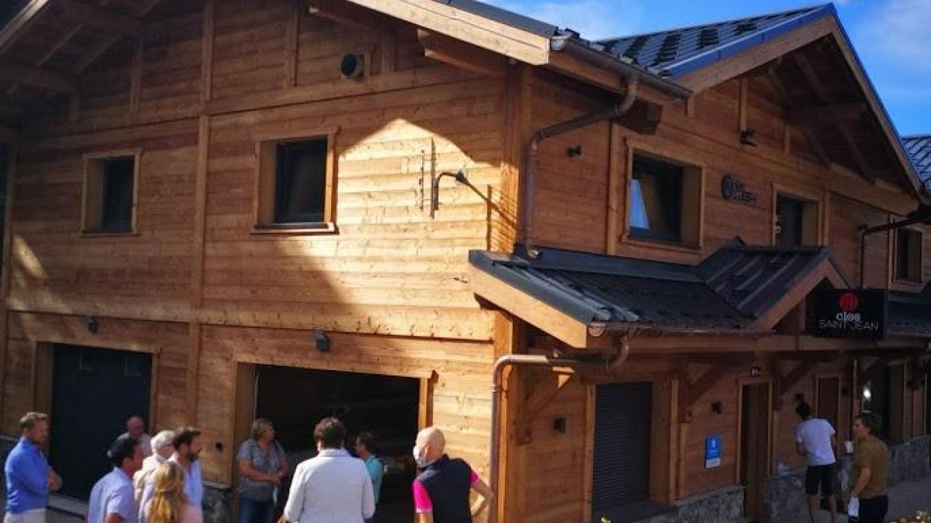 Une quinzaine de logements saisonniers ont été inaugurés mercredi 26 août.