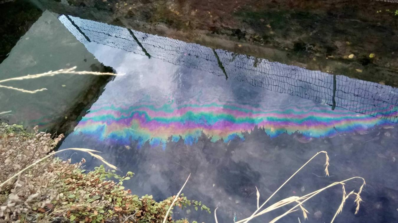 Le fuel a gagné le lac via le réseau d'eaux pluviales et le Merloz.