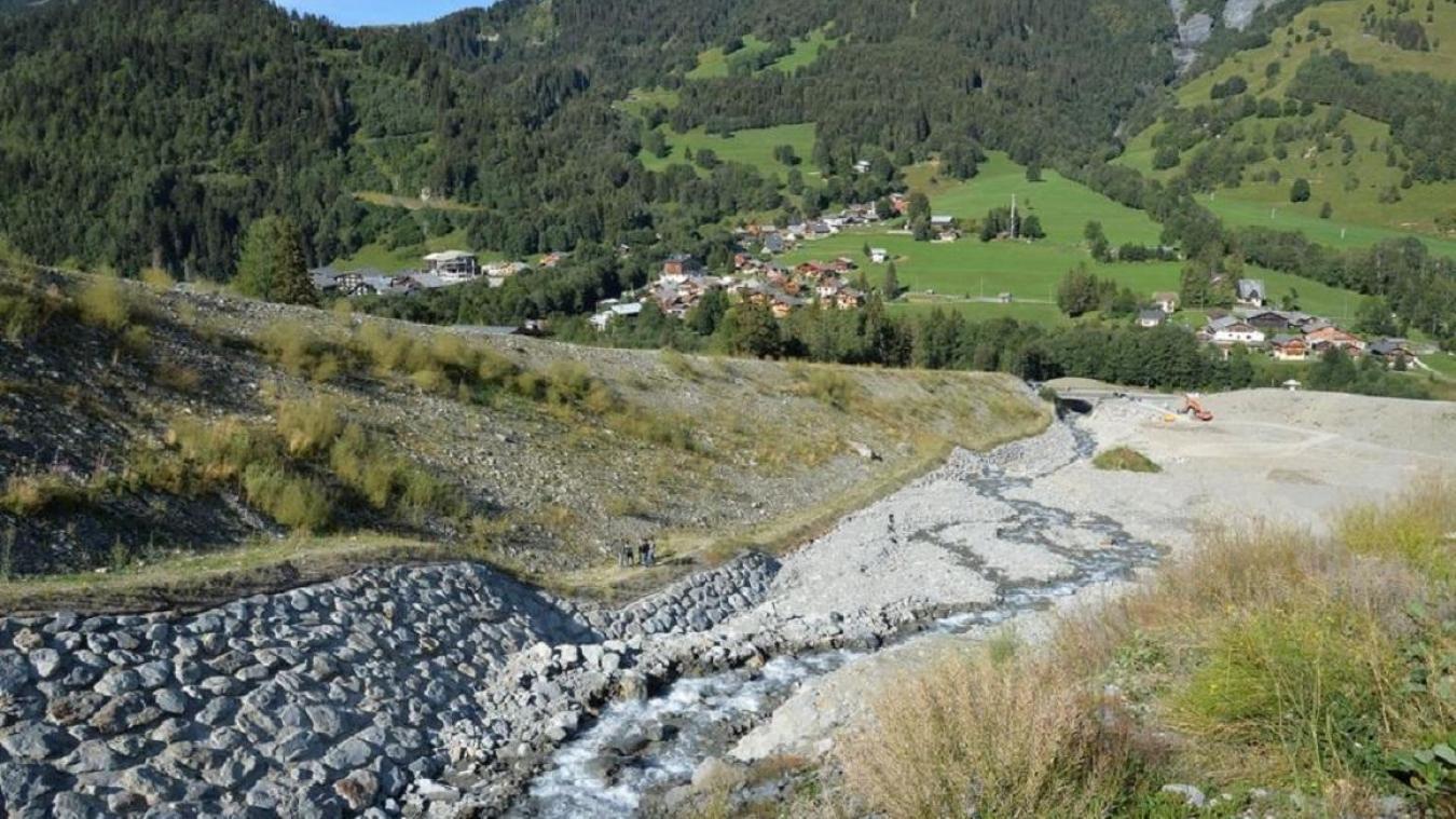 2 540 832 eurosde travaux pour l'aménagement de la plage de dépôt. Chantier qui a été inauguré le mercredi 26 août.