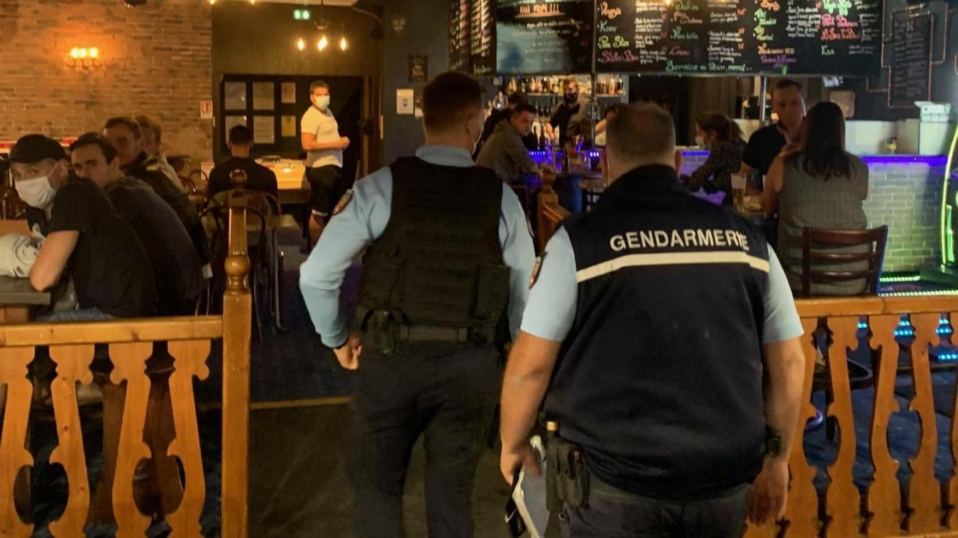 Aucun procès verbal n'a été dressé lors des différents contrôles. Photo : gendarmerie de Haute-Savoie.