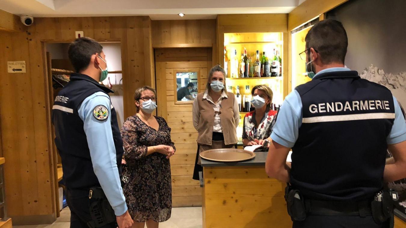 Trente établissements, essentiellement des bars et des restaurants, ont reçu la visite des gendarmes de la compagnie de Thonon-les-Bains, samedi 5 septembre, dans la soirée.