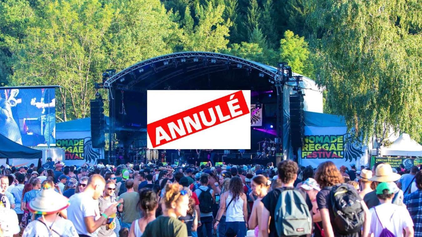 Passy: le Nomade Reggae Festival définitivement annulé