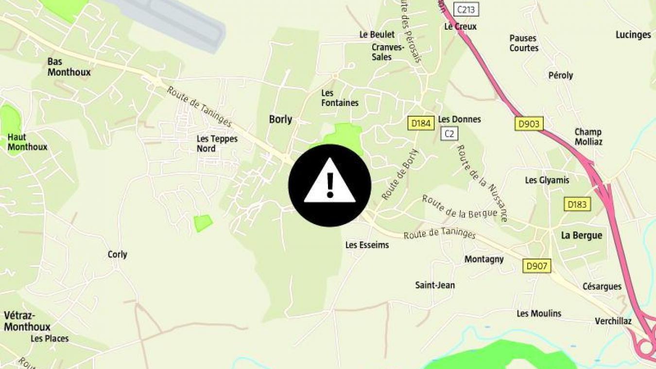Lundi 7 septembre, vers 17h30, quatre véhicules sont entrés en collision à Cranves-Sales, route de Taninges.