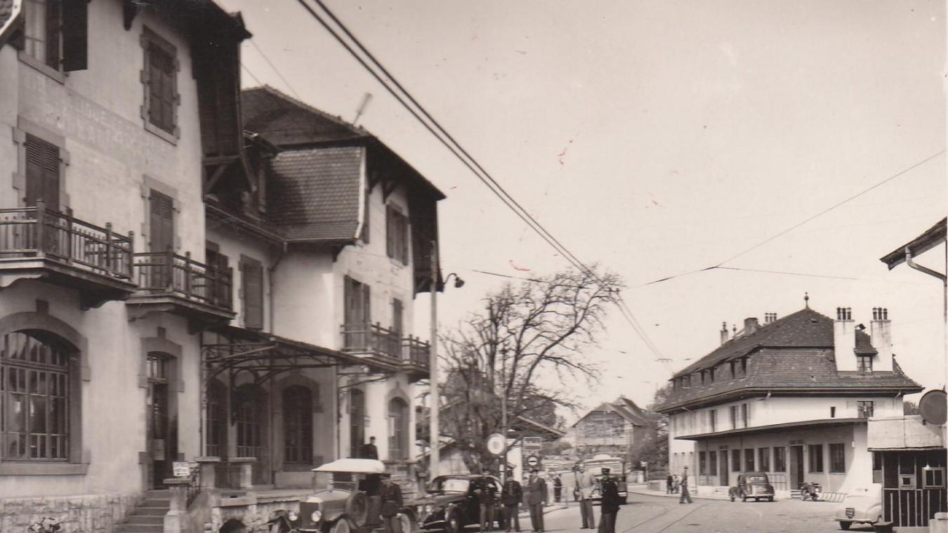 C'est à la douane de Moillesulaz que l'espionne allemande a été arrêtée par la police française.