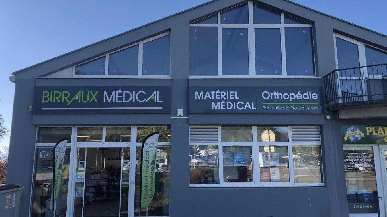 L'entreprise Birraux Médical est inscrite dans le paysage chablaisien depuis 30 ans. Elle est aujourd'hui installée zone de Marclaz, à Thonon.