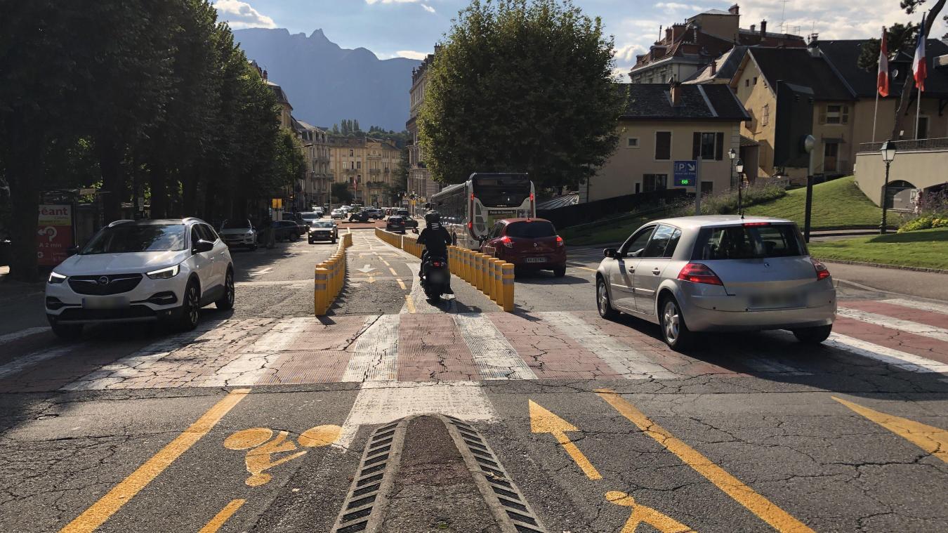 Aix Les Bains Deja Des Changements Sur La Nouvelle Piste Cyclable Des Thermes L Essor Savoyard