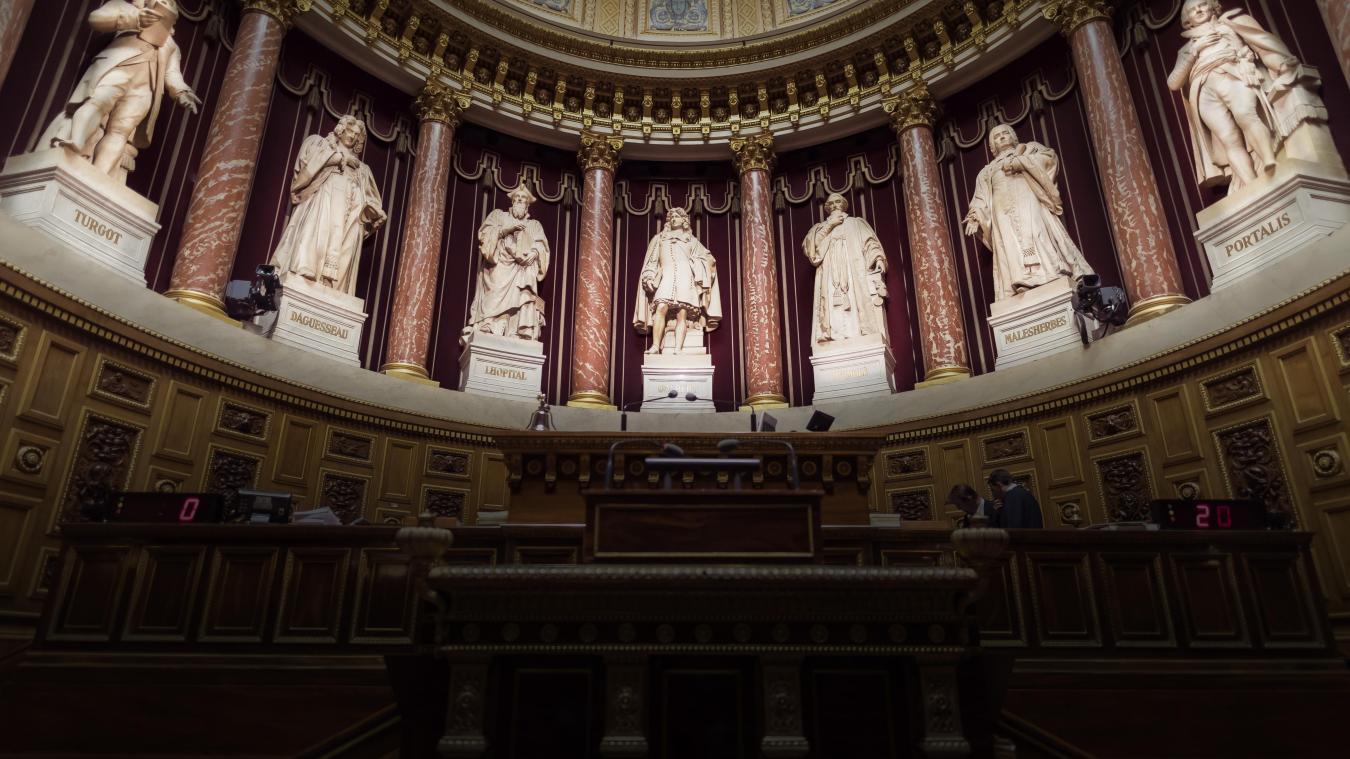 1 860 grands électeurs devront choisir trois sénateurs. (Crédit photo : Lionel Bonaventure / AFP)