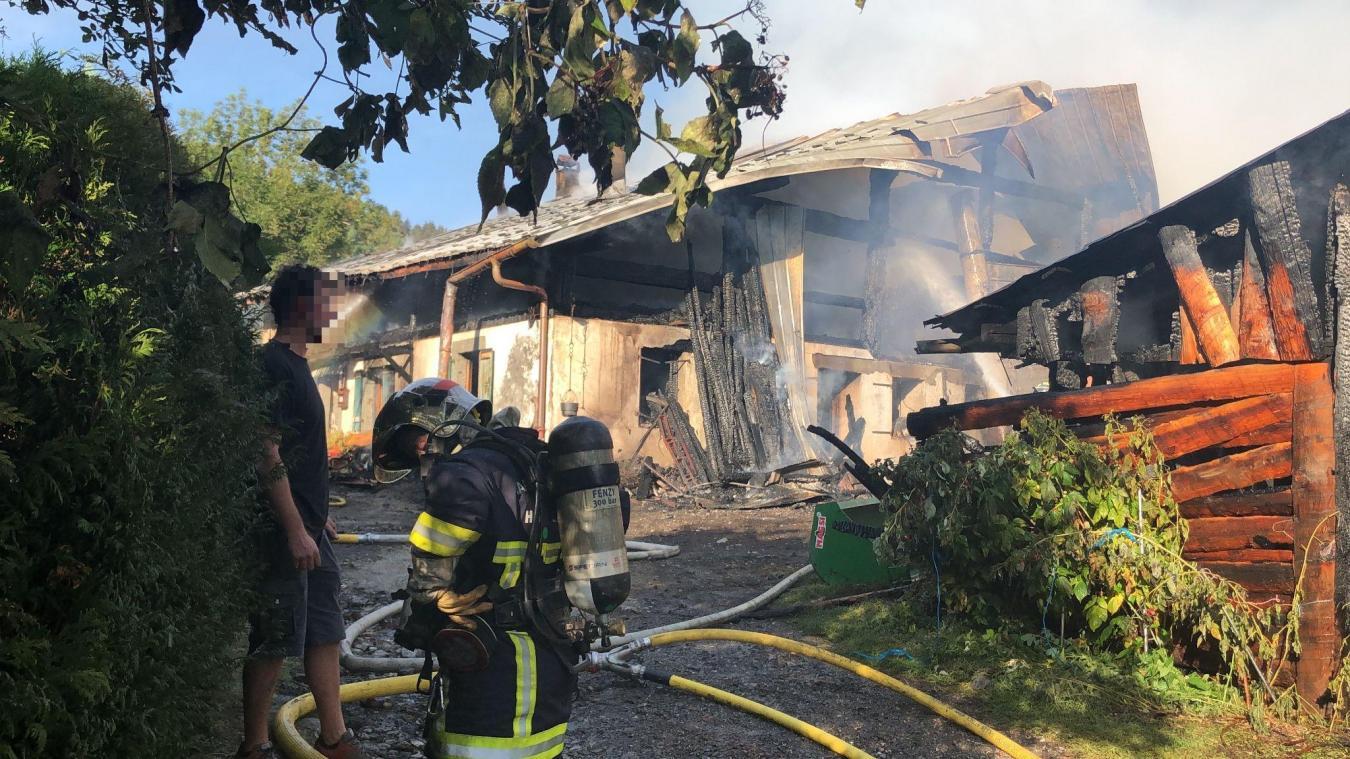 L'incendie est maîtrisé depuis 9h12 ce matin.