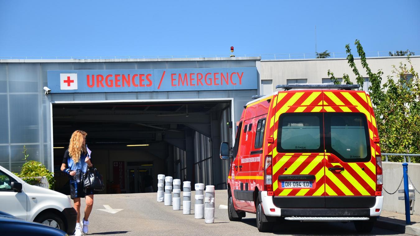 Les victimes de l'accident de la route à Charvonnex, le 9 septembre, ont été transportées aux urgences de l'hôpital d'Annecy