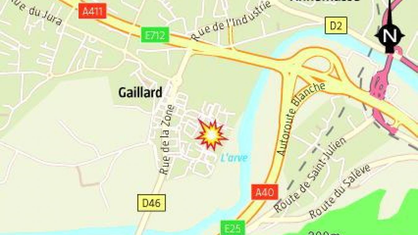 Ce jeudi 10 septembre, trois blessés graves sont à déplorer après un accident de la route à Gaillard.