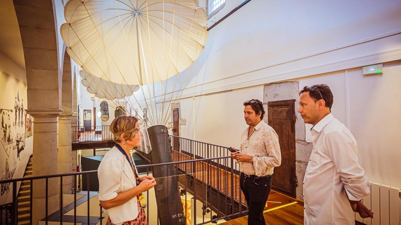 Après avoir découvert le musée cet été, Laurent Gerra a accepté d'être le parrain du musée.
