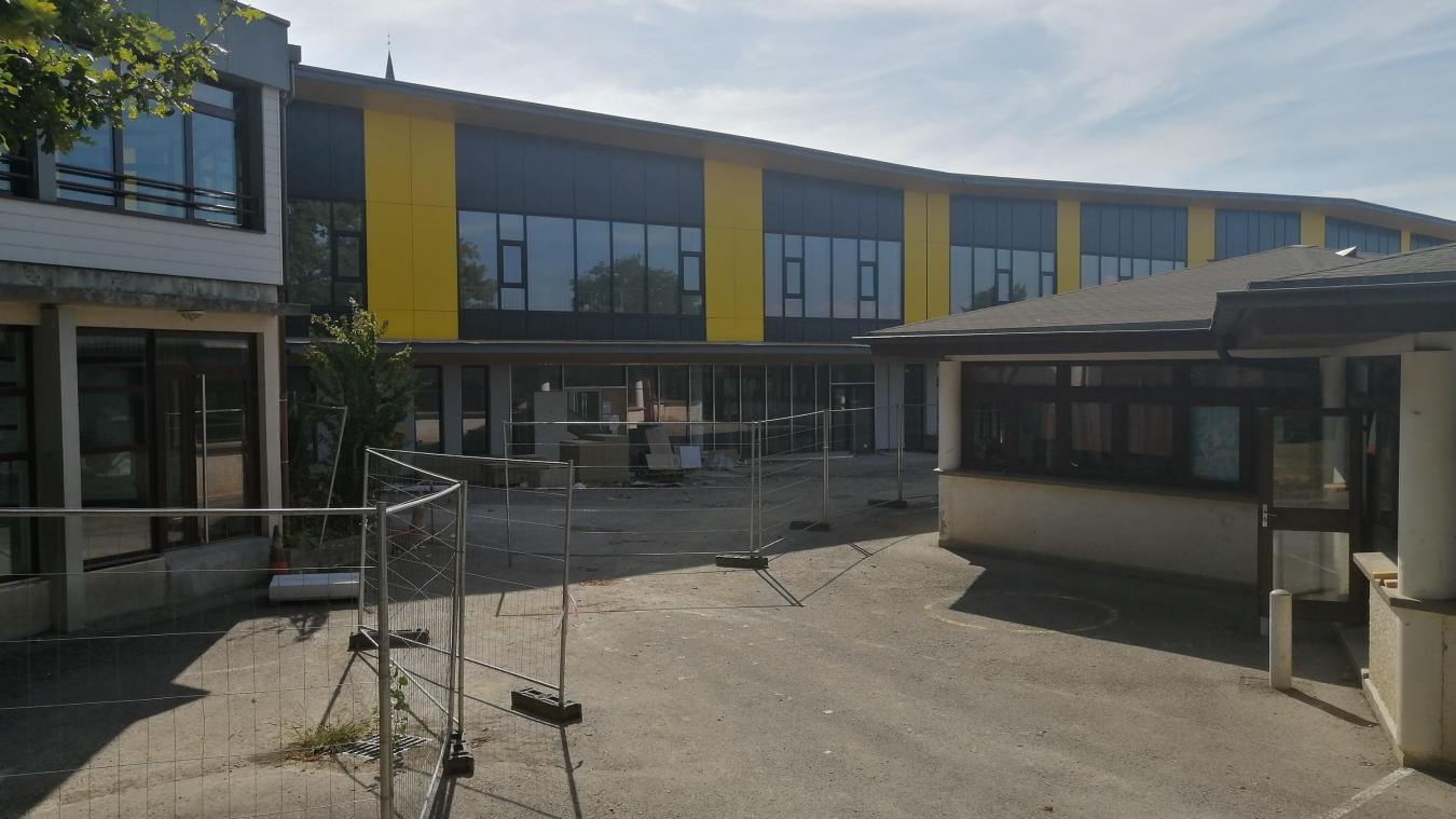 A l'école Simone-Veil de Publier, la classe concernée a été fermée pour 10 jours.