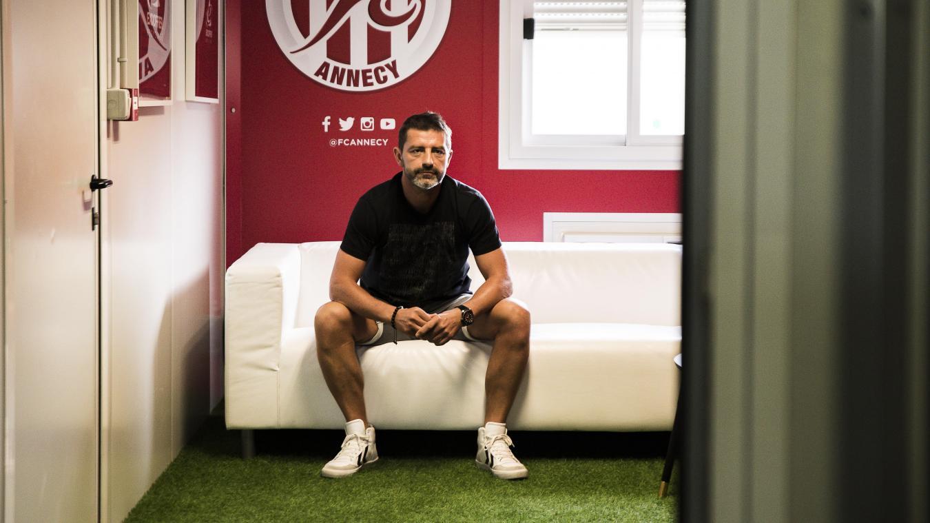 Pour Sébastien Faraglia, nouveau président du Fécé, le club ne pourra pas être plus ambitieux s'il n'y pas de volonté politique de doter la ville d'infrastructures sportives.