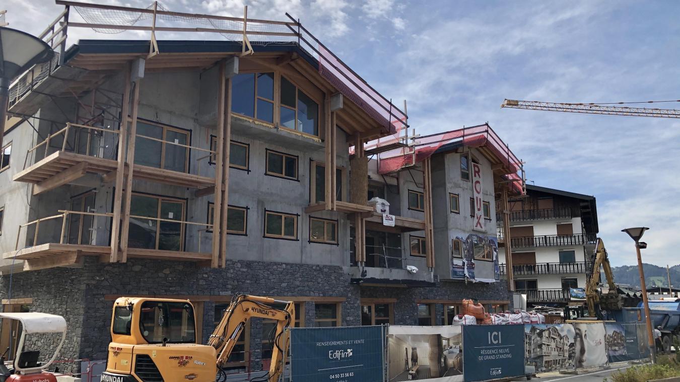 Aux Gets, on compte 8 nouveaux programmes immobiliers, en construction ou livrés récemment.