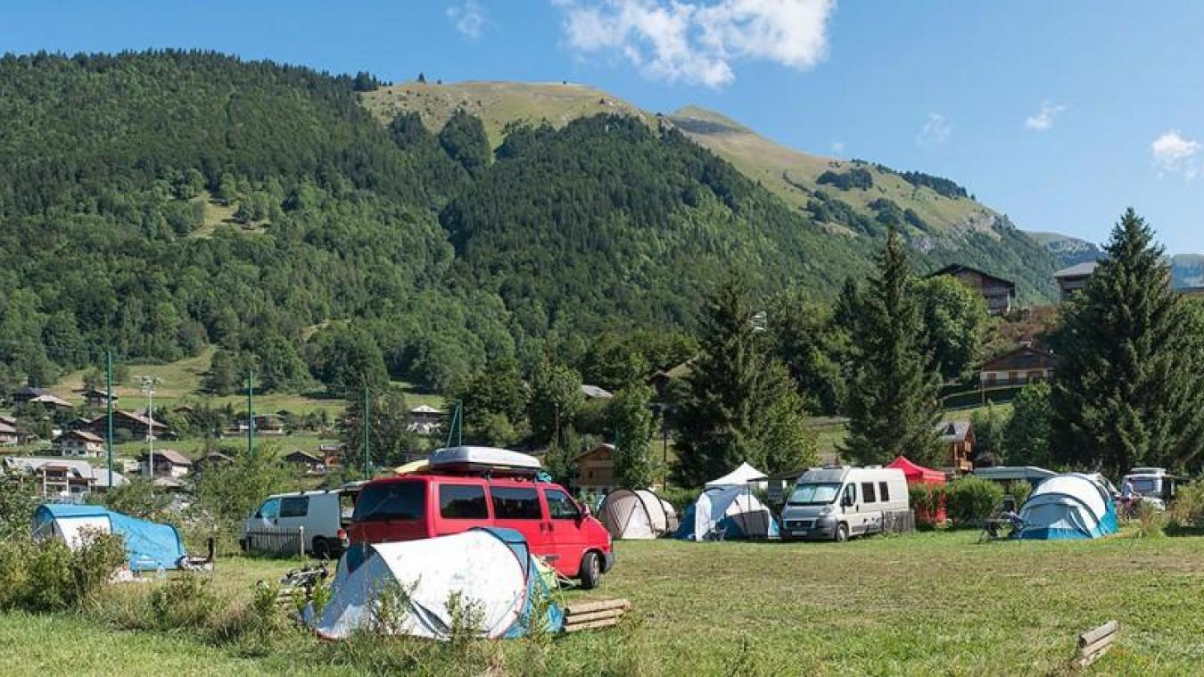 Le camping de Montriond accueillait les travailleurs saisonniers depuis neuf ans.