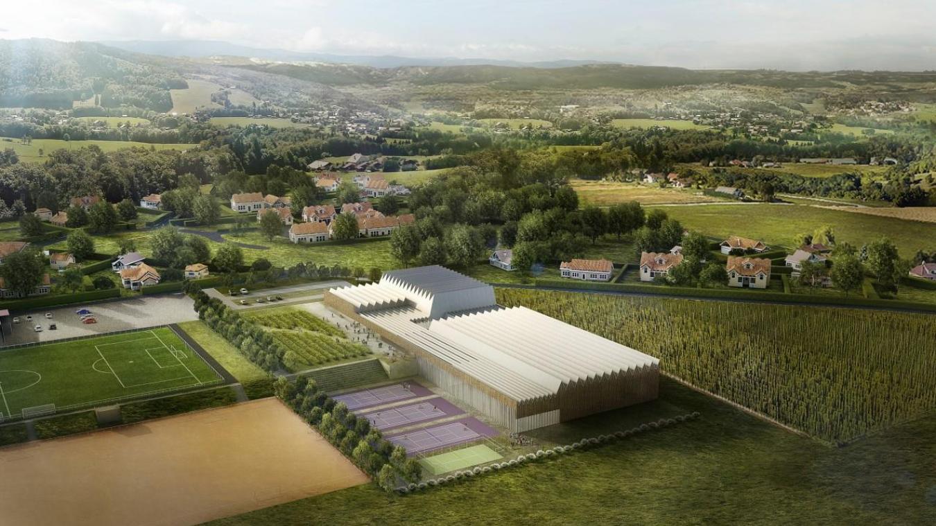 Le complexe sportif et culturel intercommunal pourra accueillir du public dès 2023.