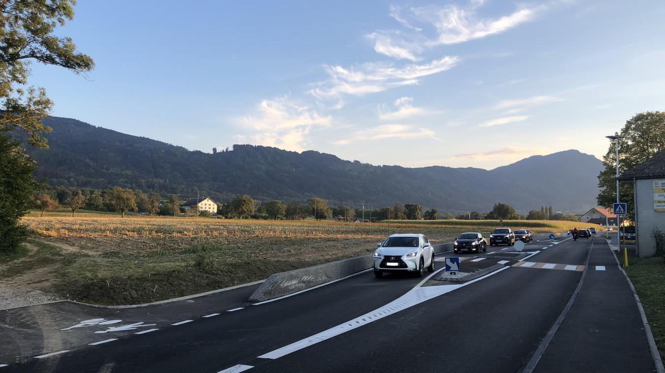 Les travaux ont notamment été réalisés pour sécuriser les abords du hameau de Ganguilly, jugés dangereux.