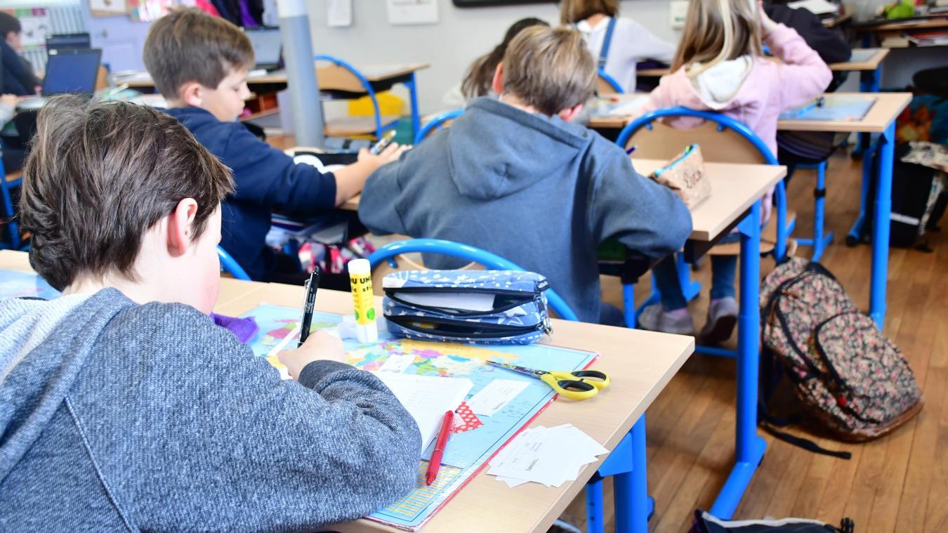Les règles au sujet de la fermeture des écoles et des classes sont susceptibles d'évoluer tout au long de l'année. Photo d'illustration.