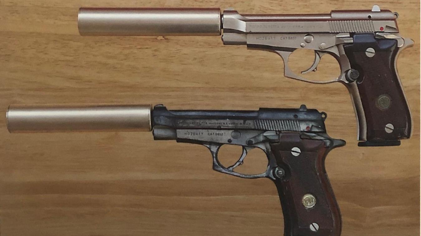 Des armes des films James Bond ont été volées à Londres.